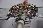 Anomalocaris inspirado mecanismo ondulado