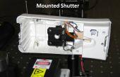 Ambientador de aire base de obturador mecánico láser