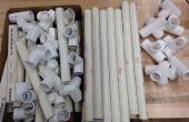 Materiales de PVC silla (Insertar imagen material)