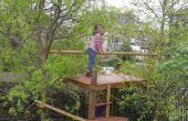 No una casa de árbol, no un marco de escalada