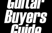 Cómo encontrar la guitarra de derecho