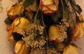 La manera fácil de rosas secas