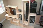 Construir un estante DVD Tetris (o libro)