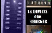 14 x USB hub de carga!
