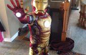 Simple y barato añadir luces repulsor para traje de hombre de hierro de niños