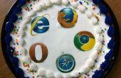 Cómo hacer una Cookie de navegador comestibles