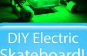 Patín eléctrico bricolaje con luces