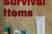 Artículos de supervivencia poco probable 3