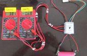 Probador de la batería y el cargador de