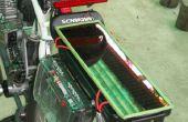 Solar cargo funcionamiento LED con luz de freno intermitente para bicicletas