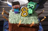 Layer Cake de Minecraft