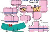 Cómo hacer Miss La Sen en papercraft de la falda.