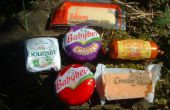 Botones: un experimento con queso