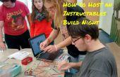 Cómo organizar una noche de Instructables construir