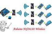 4 comunicación inalámbrica Nrf24L01 de Arduino 4