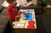 Una mesa Arcade DIY con frambuesa Pi