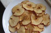 Chips de manzana al horno!