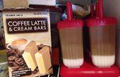 Paletas de crema y café