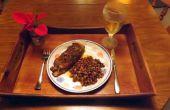 PAN frito TILAPIA rellenas de cebolletas frescas, cebollas y pimientos