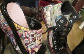 Zapatos de comics: Hightops y zuecos de plataforma