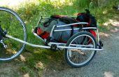 Remolque de moto de niño a convertir un Trailer de carga.