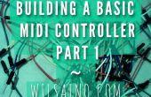 Construcción de una controlador de Midi básico parte 1 - 3 fácil olla (potenciómetro) Arduino Uno efectos controlador Midi (serie-USB)... Rápido, fácil y barato!