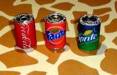 Latas de refresco miniatura