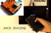 Control con cualquier teléfono (incluso teléfonos sin transmisor de IR)