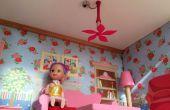 Casa de muñecas 3D impreso del ventilador