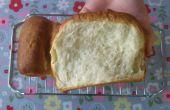Suave pan de leche - fácil sin receta mezclador