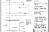 Dimensiones de Arduino, agujero patrones y cómo fijar