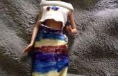 ¿Muñeca vestido hecho de medias