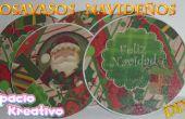 Posavasos de CD para Navidad