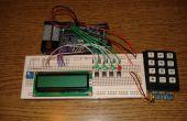 Solver de ecuación de segundo grado con arduino