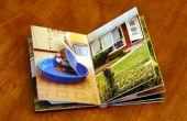 Hacer un libro de la-aleta de encargo para un niño