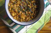 Rápido ojo negro frijoles rajma (curry)