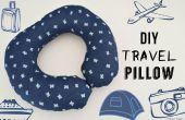 Cómo coser una almohada de viaje