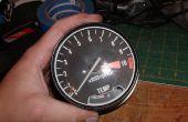 Cómo abrir una Honda CB/CX/GL estilo tacómetro y velocímetro