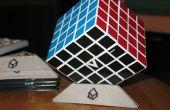 Soportes de cubo de Rubik DIY de cartón