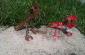 Para construir una Tryannosaurus llave y Pliersarus