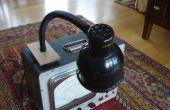 Magnético la lámpara y sostenedor de herramienta - utilizando microondas salvamento partes
