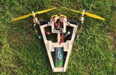 Bicopter A2212 1400Kv motores multiwii fc