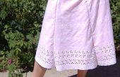 Camiseta falda