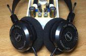 Alta fidelidad DIY: Amplificador de auriculares clase A híbrido