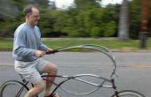 Bicicleta con curvas