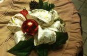 Centro de mesa Navidad 1 minuto