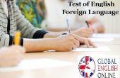 Prueba de inglés como lengua extranjera Online preparación