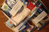 ¿Aidleros lo que está en mi bolso? Ayudar a los paquetes de distribución - adulto bolsa de higiene.