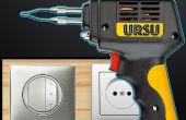 Cómo hacer una soldadura / pegamento pistola controlador