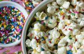 Funfetti pastel masa palomitas